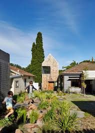 weatherboard house creative extension and renovation for a long