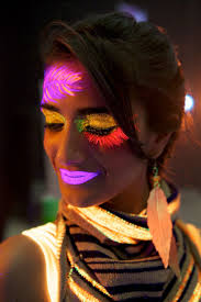 halloween face paint kids black background best 10 glow face paint ideas on pinterest diy blacklight party
