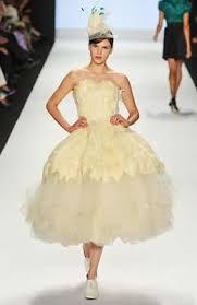 mcqueen wedding dresses feather wedding dress knock offs project runway copies