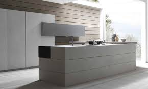 cuisine haut de gamme italienne cuisine italienne résine béton modulnova twenty cemento porto venere