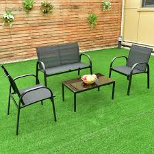 Steel Patio Furniture Sets by Deck Furniture