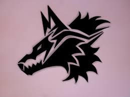 tribal wolf by supd on deviantart