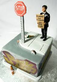 divorce cake toppers divorce cakes that are such a tasteless way to celebrate