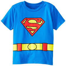 dc comics costume superman logo caped t shirt clothing