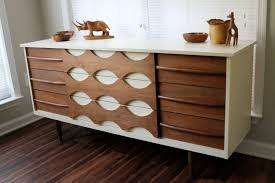 mid century modern dresser and decoration u2014 readingworks furniture