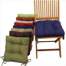 Outdoor Bistro Chair Cushions Square Chair Cushions Tie On Effectively Crc Empress
