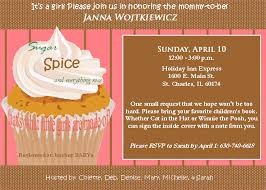 sugar and spice and everything baby shower pink tye design baby shower invite sugar and spice and