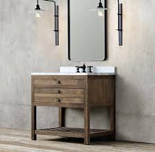 vanities restoration hardware bathroom farmhouse bathrooms