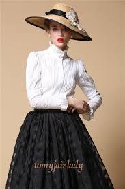 high neck ruffle blouse high neck collar anziehsachen 19 white shirts