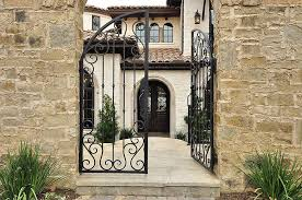tasty iron front porch gate for iron fence