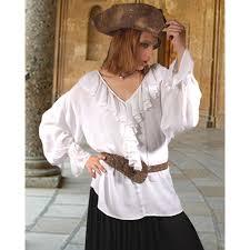 plus size pirate blouse barbarossa pirate blouse renaissance shirt jabot shirt