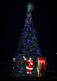 christmas tree lighting at children u0027s medical center plano