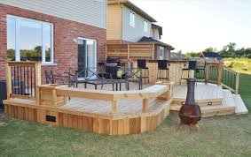 backyard deck bar ideas backyard fence ideas