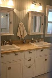 bathroom medicine cabinets with nautical lightstips for installing