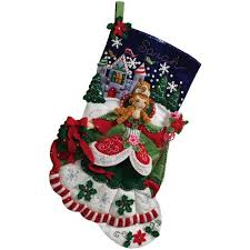 Christmas Stocking Decorations With Glitter by 70 Best Christmas Stockings Images On Pinterest Christmas