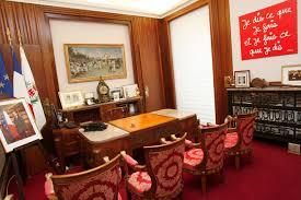 bureau maire de le bureau d estrosi visitez le patrimoine municipal