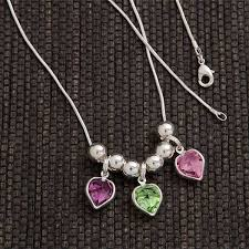 s day necklace with birthstone charms 177 best s day gifts 2018 images on day