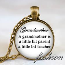 mothers day jewlery grandmother quote necklace jewelry mothers day gift