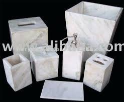 white marble bath accessories home bed bath bathroom bath