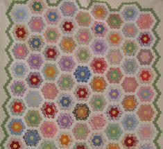 flower garden quilt pattern grandmother u0027s flower garden quilt pattern patterns gallery