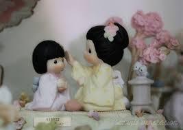 precious moments japanese and child figurine precious