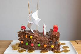 pirate ship cake pirate ship cake from 14 birthday cakes your kids will never