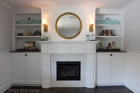 fireplace awesome white fireplace mantel with round mirror and