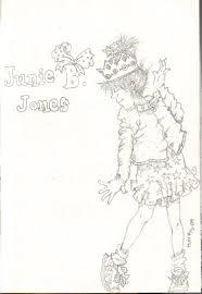 junie jones coloring pages print coloring
