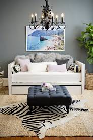 Mongolian Lamb Cushion 50 Inspiring Living Room Ideas Daybed Lambs And Trays