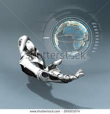 Futuristic Design Set Robots And Artificial Life Di Willyam Bradberry Su Shutterstock