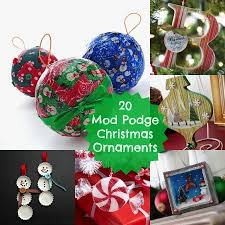 20 simple and pretty mod podge ornaments mod podge rocks