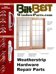 Andersen Gliding Patio Doors Anderson Andersen Gliding U0026 Sliding Patio Door Replacement Parts