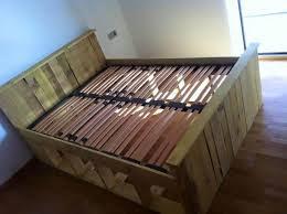 How To Make Bed Frame 13 Inexpensive Wooden Pallet Bed Frame 101 Pallets