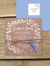 wedding invitations online australia metallic foil silver grecian garland invitation online australia