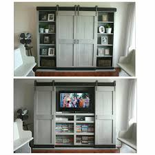 How To Take Cabinets Off The Wall Ana White Sliding Door Cabinet For Tv Diy Projects