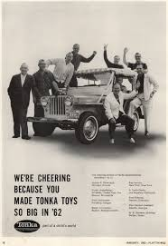 vintage jeep ad 1963 tonka ad with surrey on ebay ewillys