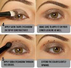 step by step smokey taupe eyeshadow tutorial u2013 miss natty u0027s