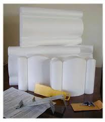 Window Cornice Kit The Cornice Store Do It Yourself No Sewing Styrofoam Cornice Kits