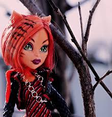monster high toralei close up learn to coloring