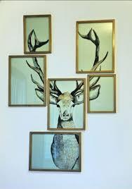 ornaments rusticality after deer antler decor suprising hum ideas
