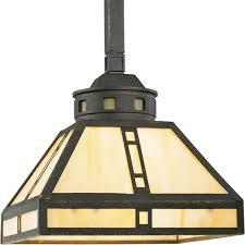 Arts And Crafts Ceiling Lights by Progress Lighting P5020 46 1 Light Mini Pendant With Light Honey