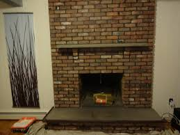 painting fireplace white shmooples