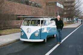 electric volkswagen van open ipub 1966 vw bus goes solar electric