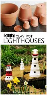 Decorating Clay Pots Kids Best 25 Lighthouse Craft Ideas On Pinterest Beach Rocks Sea