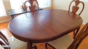 dining furniture superb small veneer repair see condition report