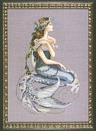 enchanted mermaid mirabilia cross stitch pattern 123stitch