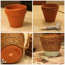 terracotta pots wrapped pots house by hoff