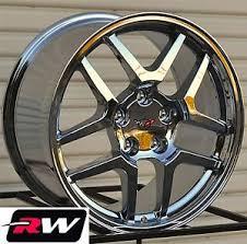 chrome corvette wheels 17 18 inch corvette wheels c5 z06 chrome rims 17x9 5 18x10 5
