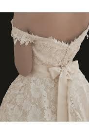 house of mooshki maeve tea length lace vintage champagne wedding dress
