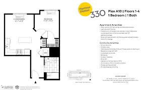 Railroad Apartment Floor Plan by Harrison Luxury Apartments For Rent Harrison Station 330 Applied